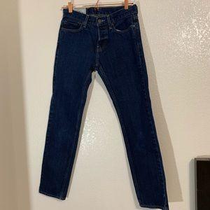 Hollister   Dark Wash Straight Leg Jeans Size 28